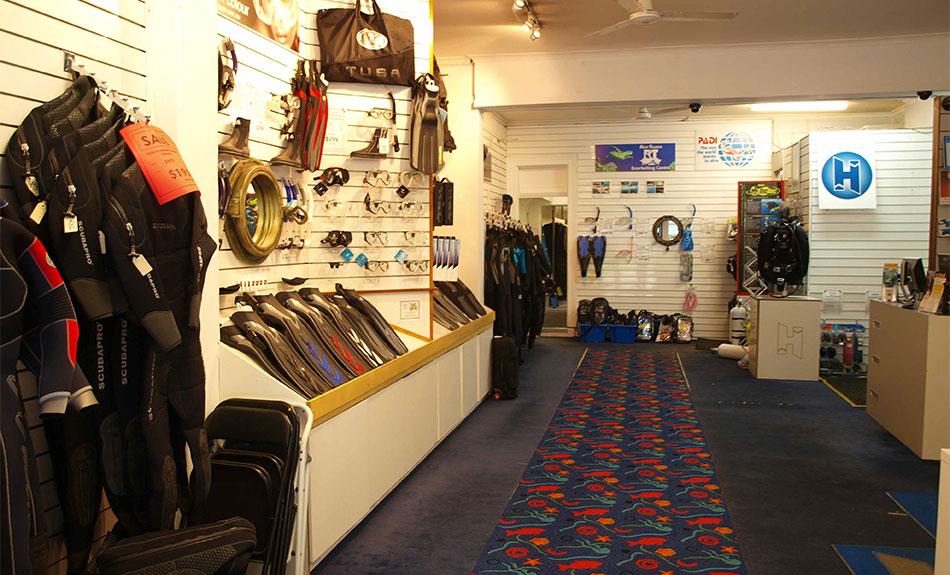 business plan for a dive shop